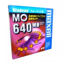 maxell  MA-M640.WIN.B1P Windowsフォーマット済MO 640MB 1枚入り